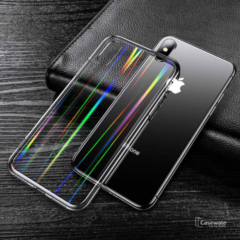Baseus Aurora Series Transparent Case for iPhone XS