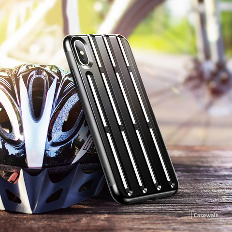 Baseus Rugged Armor Helmet Case For iPhone XS