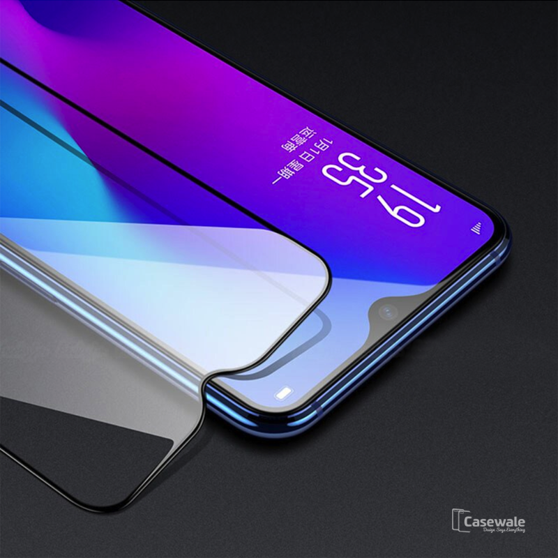 5D Tempered Glass Screen Protector For Galaxy M20