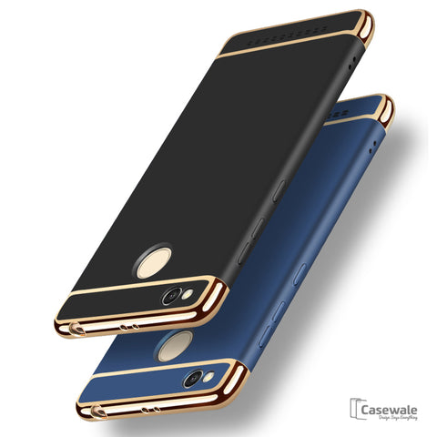 3 in 1 PC Hard Armor Luxury Covers for Redmi 3S Prime