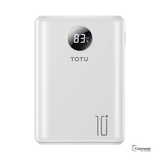 TOTU 10000mAh Portable Mini Power Bank with LED Display