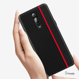 Original CENMASO Carbon Fiber PU Leather Case For Redmi K20 & K20 Pro