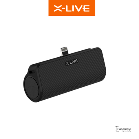 X-LIVE 3,000mAh USB Dock Charger Power Bank for Lightning