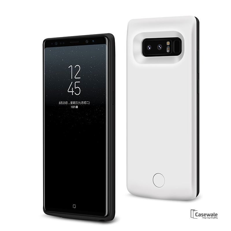 the best attitude f051c 796f5 External Battery 5000mAh Power Bank Case for Galaxy Note 8
