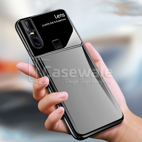 Luxury Smooth Ultra Thin Mirror Effect Case for VIVO V15