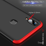 360 Full Body Hard Protection Matte Case For Galaxy A20