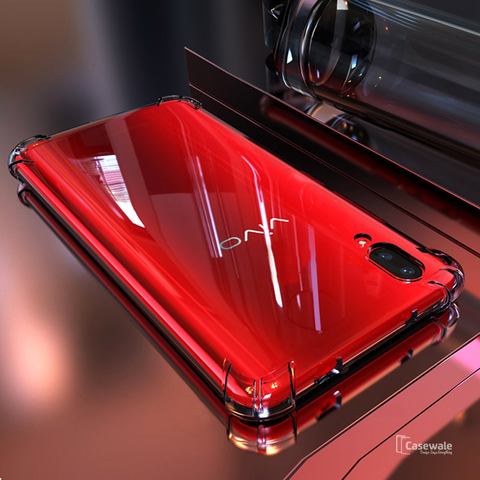 Transparent Safety Airbags Case For Vivo V11 Pro