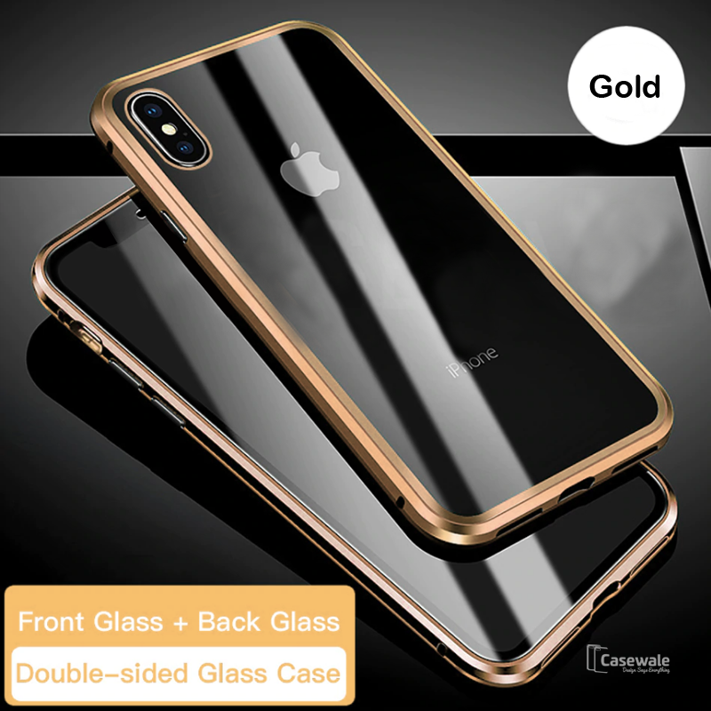 iphone xs double sided case