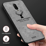 Deer Pattern Inspirational Soft Case for OnePlus 7