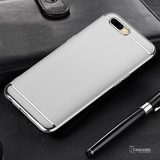 Luxury 3 in1 Electroplating Back Case For Oppo F9