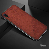 Luxury Cloth Canvas Texture Fabric Phone Case For Vivo V11