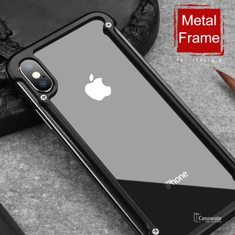 Original Aluminum Metal Bumper Case For iPhone XS Max