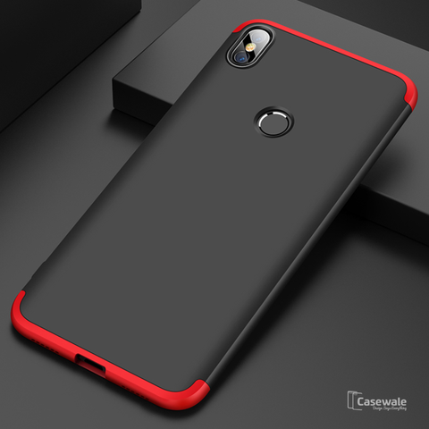 360 Protection Hard Phone Case for Redmi Y2 [100% Original GKK]