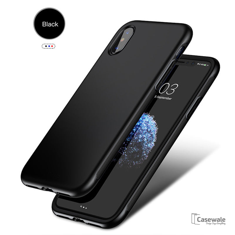 Soft TPU Shockproof Armor Shell Protective Case for Apple iPhone X