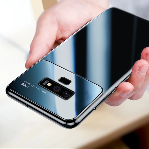 Luxury Smooth Ultra Thin Mirror Effect Case for Galaxy Note 9
