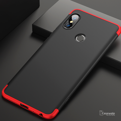 360 Protection Hard Phone Case for Redmi Note 6 Pro [100% Original GKK]