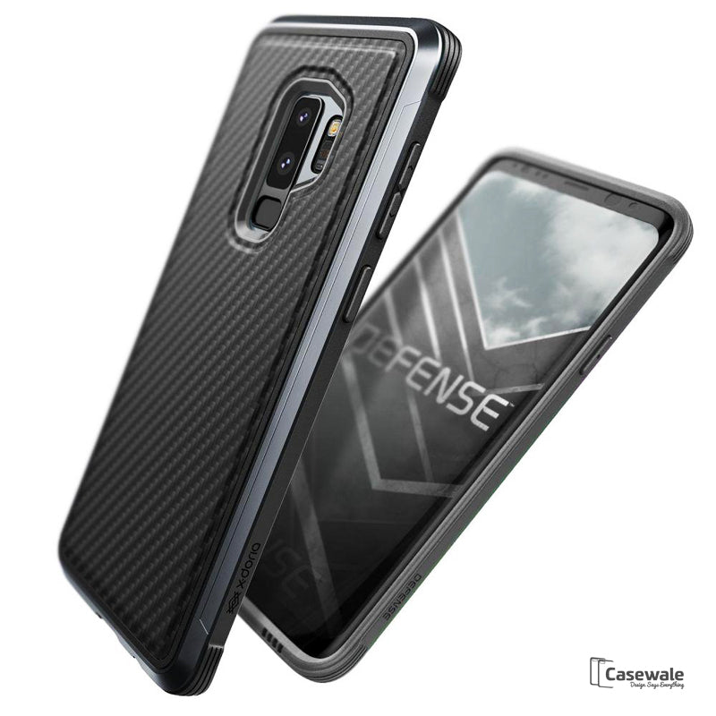 info for 84f49 a581e Defense Lux Military Aluminum Premium Case Galaxy S9/ S9 Plus