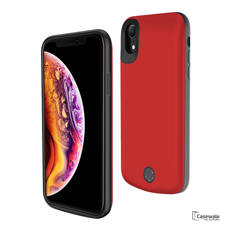 External Battery 5000mAh Power Bank Case for iPhone XR