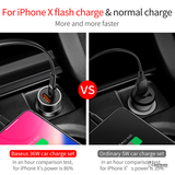 Baseus Type-C Quick Car Charger For iPhone, Samsung