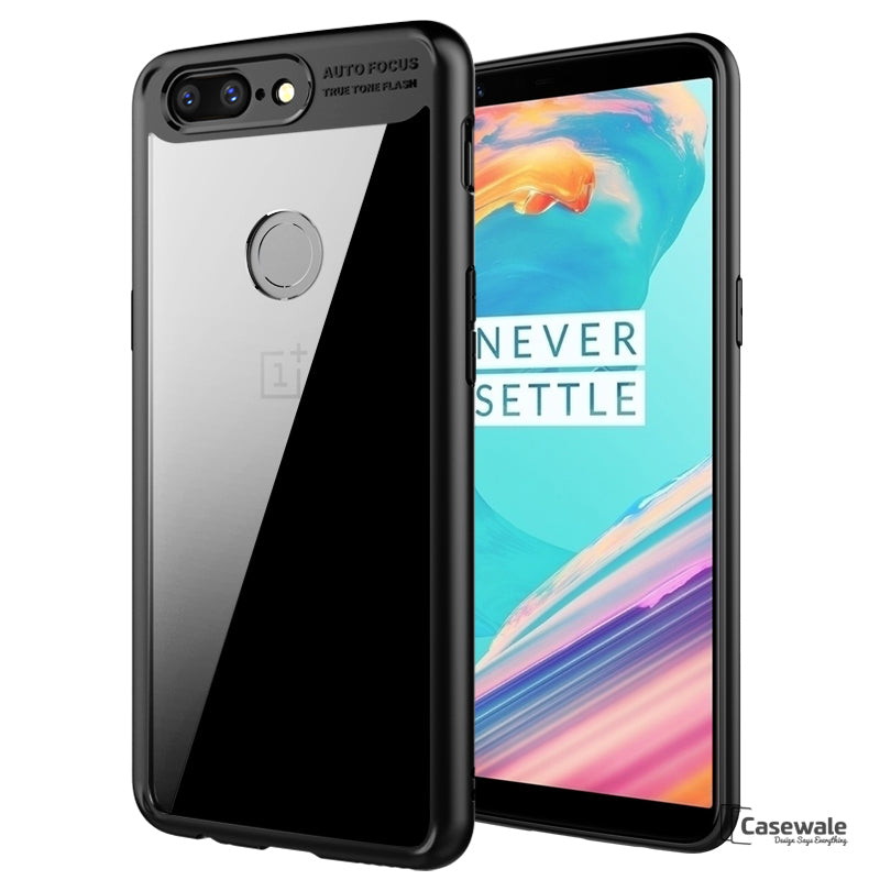 Full Protective Transparent Auto Focus Case for Oneplus 5T