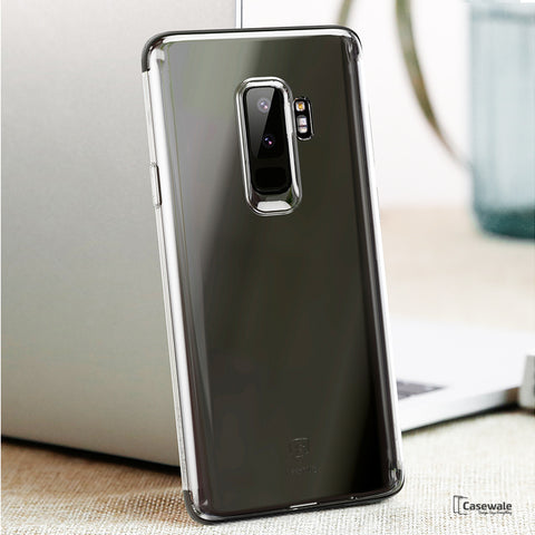 Baseus Luxury Shockproof Transparent Case for Galaxy S9 / S9 Plus