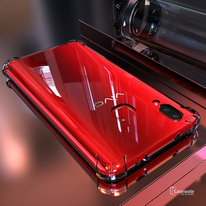 Transparent Safety Airbags Phone Case For Vivo V11