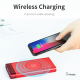 Rock P56 Wireless Charging Power Bank 10000mAh for iPhone / Android