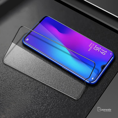 5D Tempered Glass Screen Protector For OPPO Realme 3 Pro