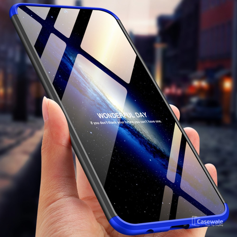 360 Full Body Protection Hard Matte Case For Vivo V11 Pro