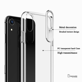Glorious PC Transparent Hard Case For iPhone XR