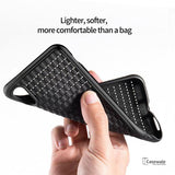Baseus Luxury Grid Pattern Protective Case For iPhone XR