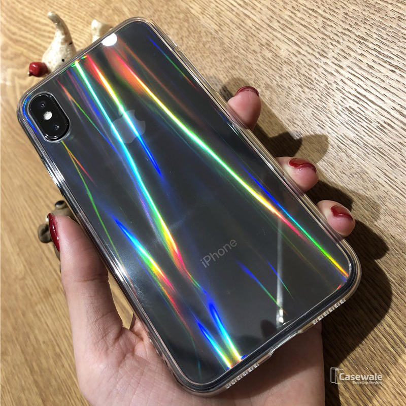 Baseus Aurora Series Transparent Case for iPhone X