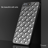 Luxury Weave Grid Hollow Ultra Thin Case for iPhone 7/ 7 Plus