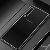 High-end Fashion Transparent Plated Case for Galaxy A9 2018