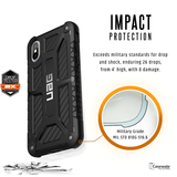 Armor Gear Monarch Feather-Light Rugged [Carbon Fibre] Military Drop Tested iPhone X Case