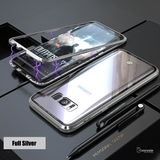 Electronic Auto-Fit Magnetic Glass Case for Galaxy S8/ S8 Plus