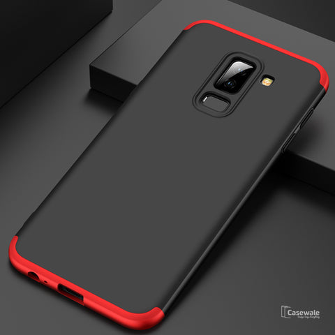 Full Protection Hard Phone Case for Galaxy J8 [100% Original GKK]