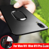 Magnetic Ring Bracket Back Case For Vivo V11