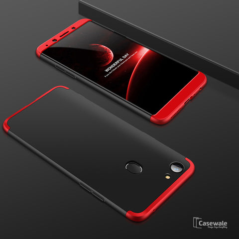 3 in 1 Ultimate 360 Degree Protection Case for Oppo F5