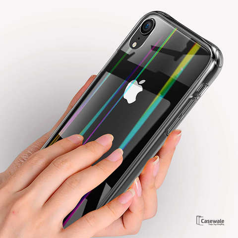 Aurora Series Transparent Case For iPhone XR