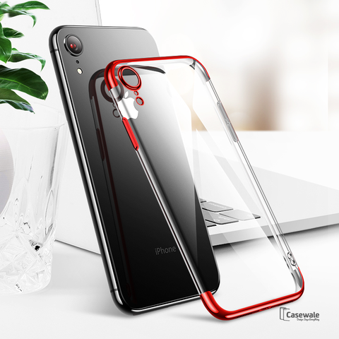 High-end Fashion Transparent Case For iPhone XR