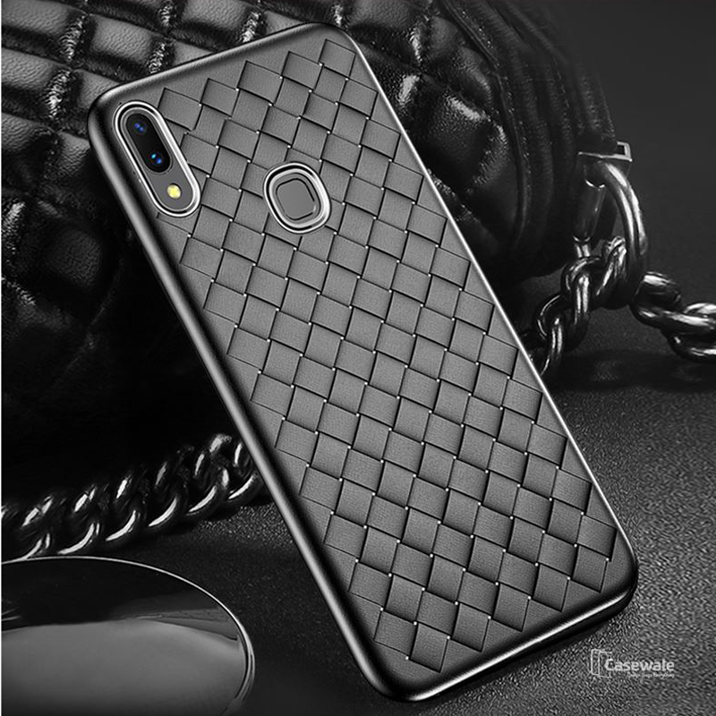 Ultra Thin Grid Weaving Protective Case For Vivo V11