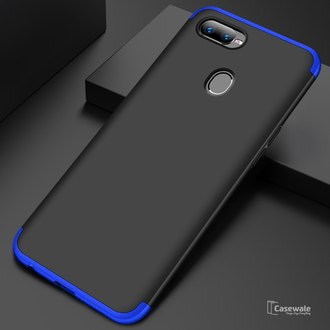 3 in 1 Ultimate 360 Degree Protection Case for Oppo F9 Pro