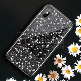 Original Flash Shiny Glitter Bling Back Case for iPhone X