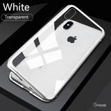 Electronic Auto-Fit Magnetic Glass Case for iPhone
