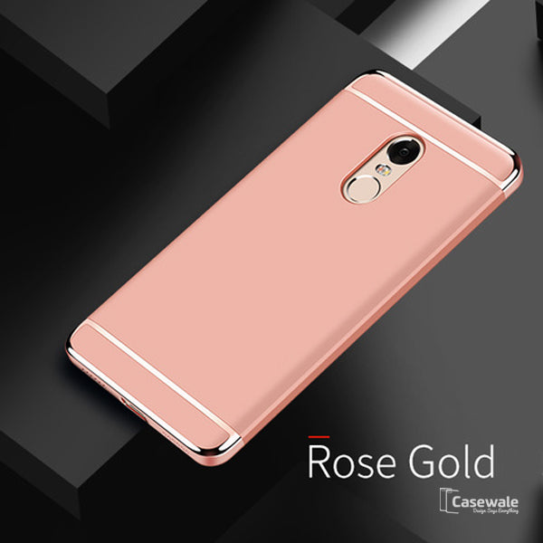 big sale e65d5 af520 Luxury 3 in 1 Electroplating Case for Redmi Note 5