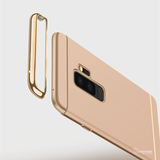 Electroplating Luxury 3 in 1 Case for Samsung Galaxy A6 Plus