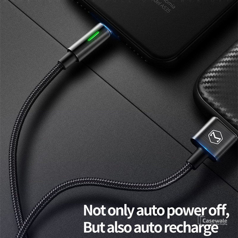 Mcdodo Auto Disconnect Lightning Cord Fast Charging Cable