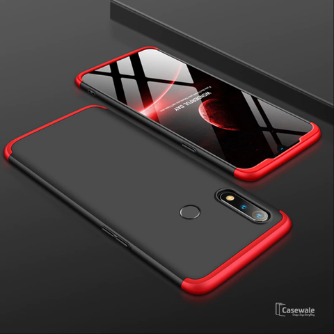 360 Full Body Hard Protection Matte Case For Oppo Realme 3 Pro