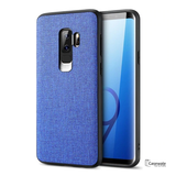 Luxury Silicone Natural Cloth Texture Case For Galaxy S9/ S9 Plus